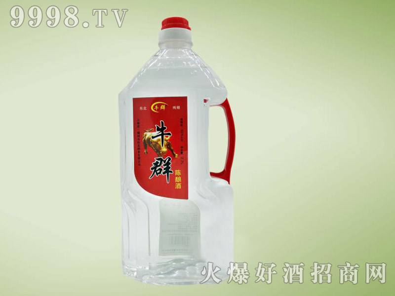 牛群陈酿酒2.5L