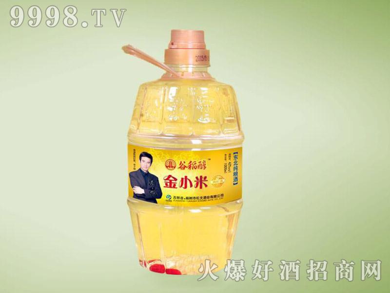 谷稻醇酒・金小米42度1L